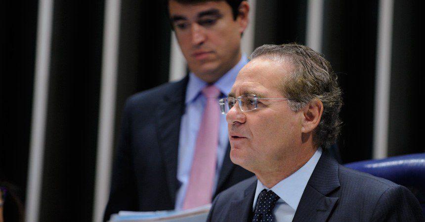 Renan Calheiros (PMDB-AL), presidente do Senado