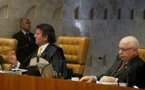Ministros do STF em sessão plenária. Foto: Gervásio Baptista/SCO/STF (29/04/2015)