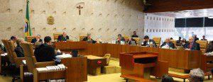 Plenário do STF. Ministros votarão a descriminalização do porte de drogas para uso