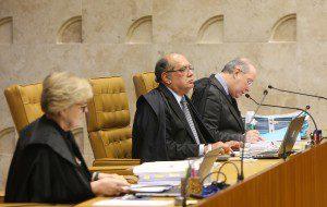 Gilmar Mendes ataca PT e OAB em voto contra ação para proibir doações empresariais para campanhas Foto: Carlos Humberto/SCO/STF