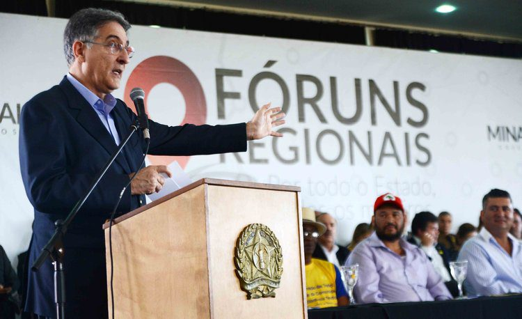 Governador de Minas Gerais, Fernando Pimentel - Carlos Alberto/Imprensa MG