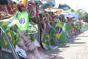 Público acompanha posse de Dilma em 2015. Para Dallari, atos do 1º mandato não podem levar a impeachment no 2º. Foto: José Cruz/Agência Brasil