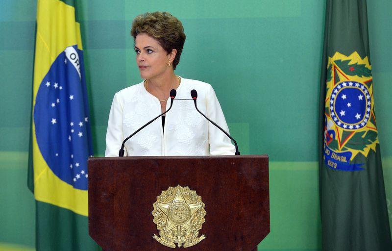 Presidente Dilma Rousseff faz primeiro pronunciamento sobre processo de impeachment (Wilson Dias/Agência Brasil)