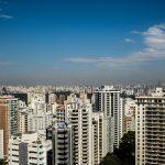 Topo de prédios de uma metrópole