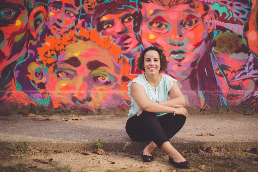 Anna Carolina Venturini trabalha com diversidade na Pluraliza