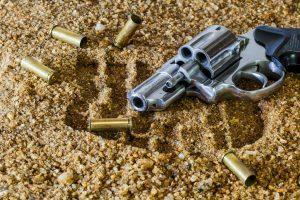 juiz baleado; armas