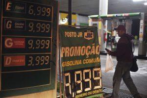 ANP, etanol; postos de gasolina