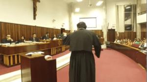Advogado em tribunal de júri