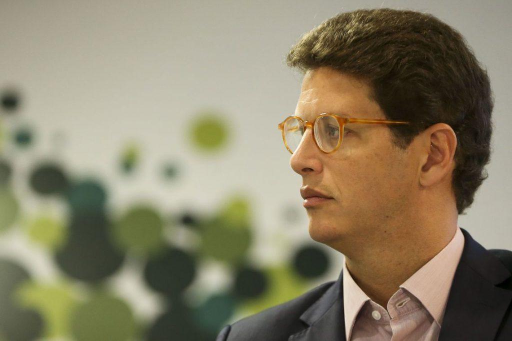 Ricardo Salles, ministro do Meio Ambiente, em foto de perfil