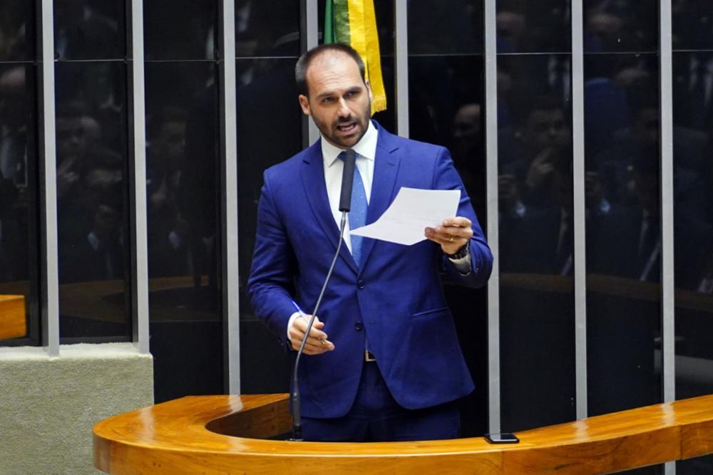 Eduardo Bolsonaro Patrícia Campos Mello