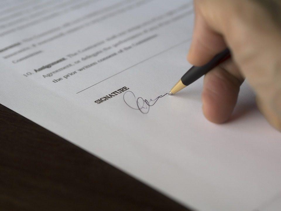 contrato, parcelamento