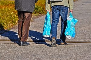 supermercados credito sacola plastica