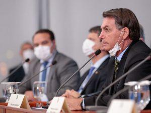 Bolsonaro; máscaras