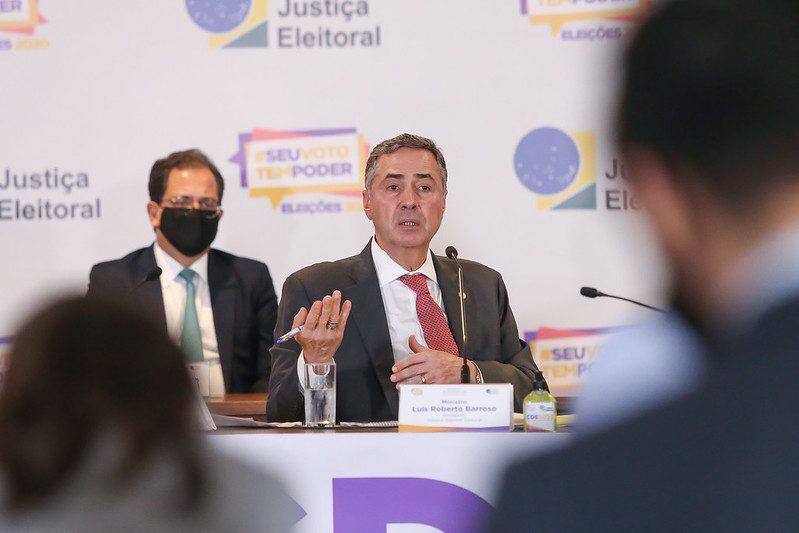 Barroso eleições urnas eletrônicas bolsonaro