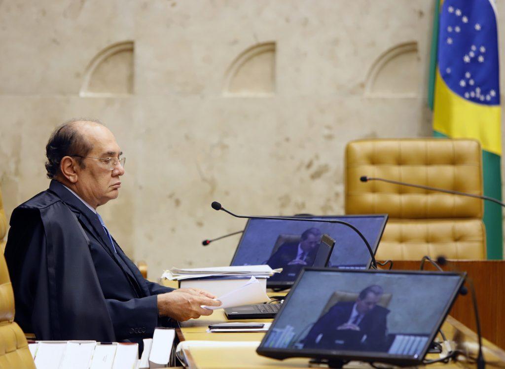 Ministro Gilmar Mendes reeleição câmara senado STF