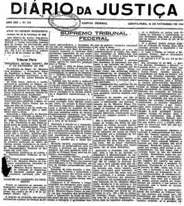 monocráticas A proposta de Castro Nunes para as monocráticas do STF