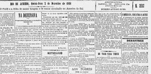 Barão de Lucena O Paiz, de dezembro de 1891