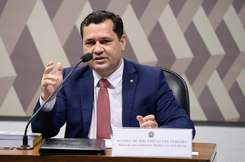 Daniel de Macedo Alves Pereira é o novo Defensor Público-Geral Federal