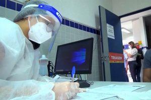 Unidade básica de saúde em Penedo, Alagoas