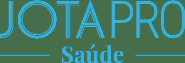 logotipo em azul ciano do jota pro saúde