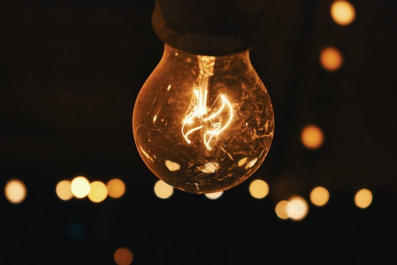 Energia elétrica, luz