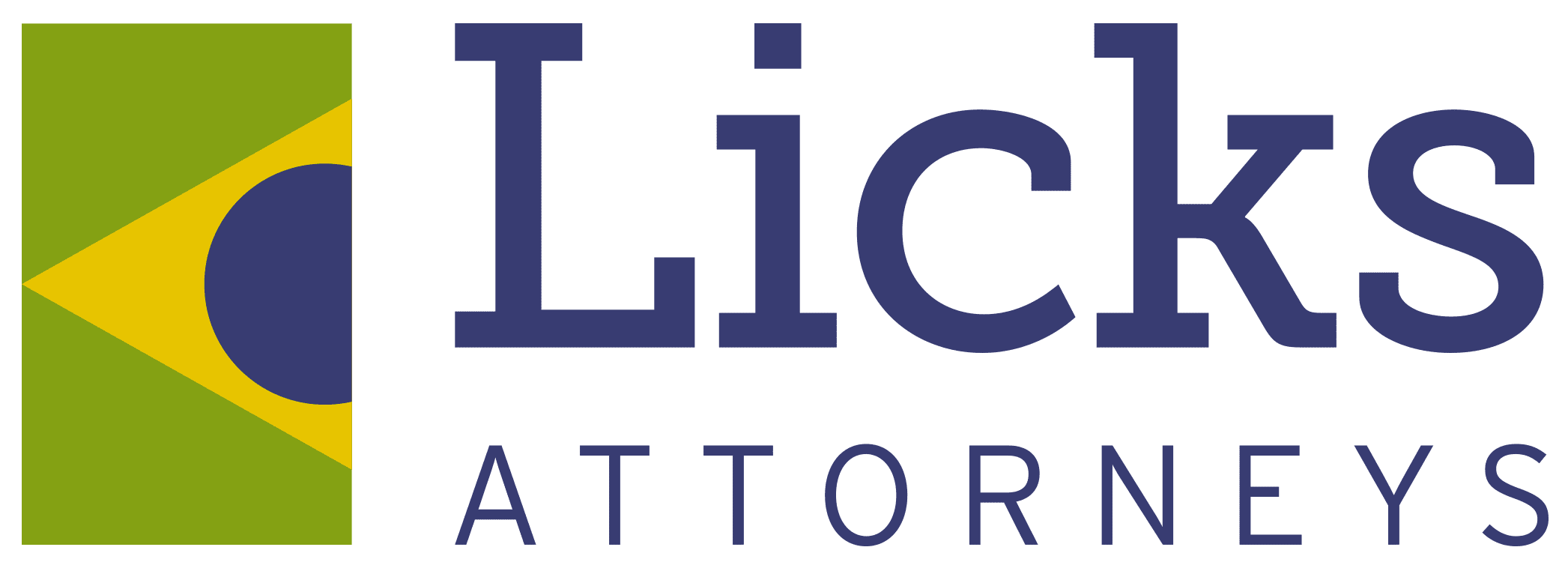 Logo do escritório Licks Attorneys