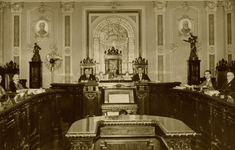 Sessão do STF em 1950