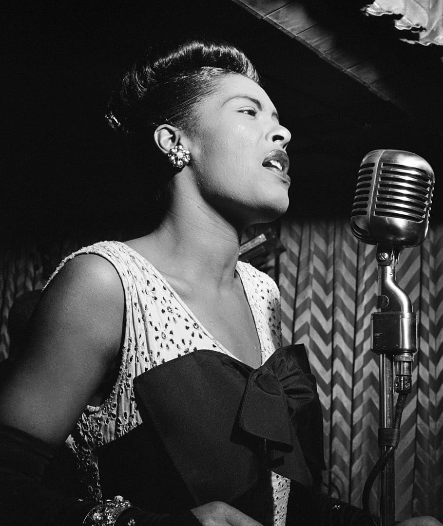 a cantora Billie Holiday
