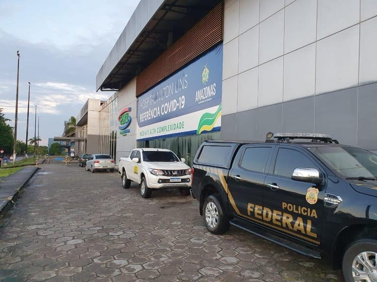 operação da pf contra governador do Amazonas Covid-19