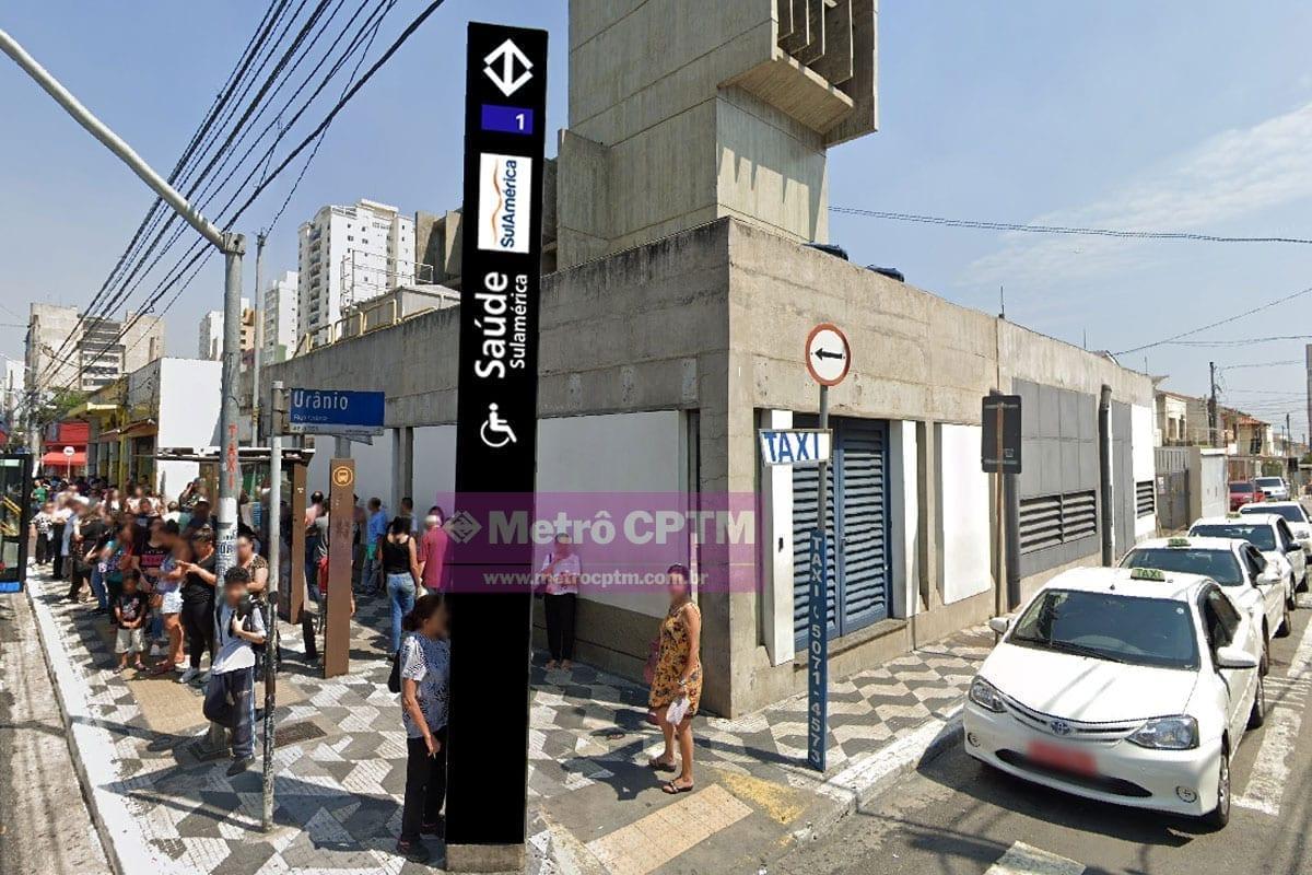 Simulação mostra como ficaria uma estação com naming rights.
