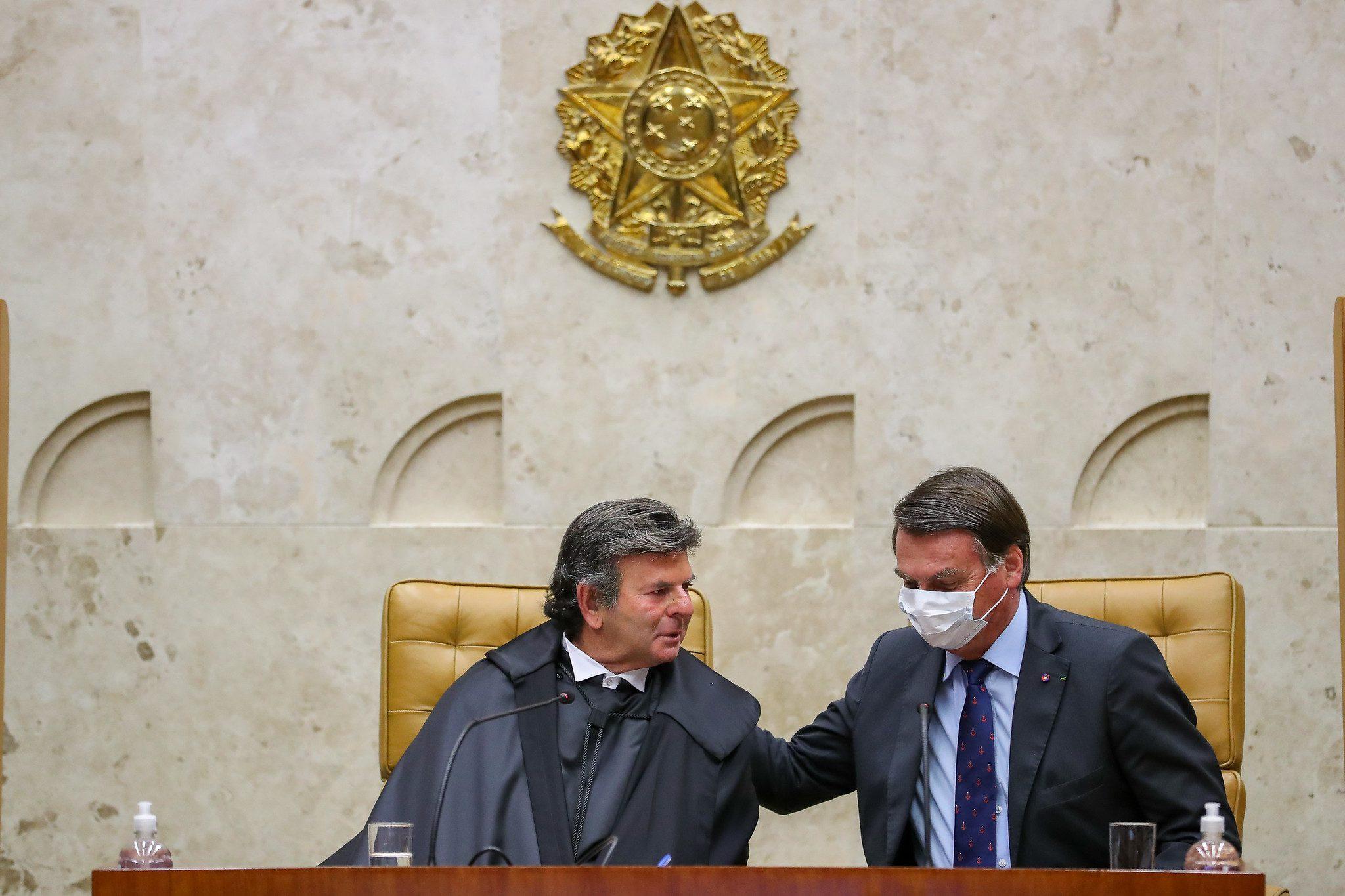 Bolsonaro x STF