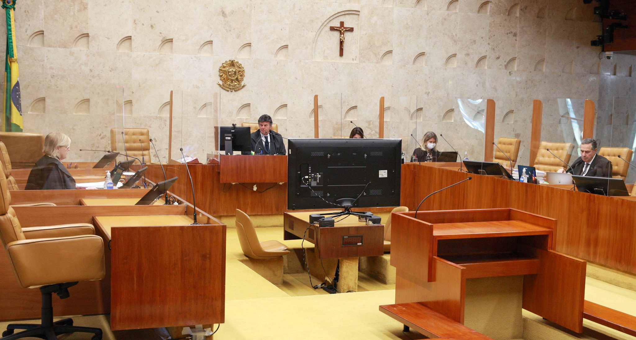 Plenário do STF na sessão de 26 de agosto de 2021
