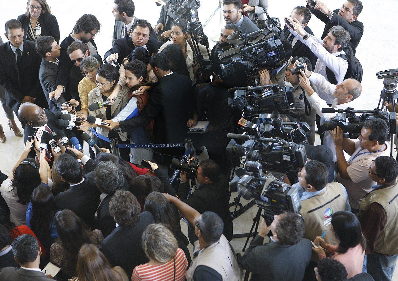 STF e sua relação com a imprensa