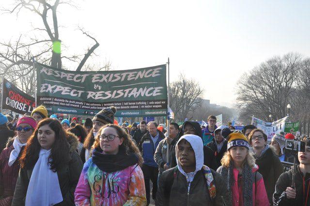 Protesto contra o aborto em Washington